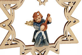 Angel on a Star Christmas Decoration s6