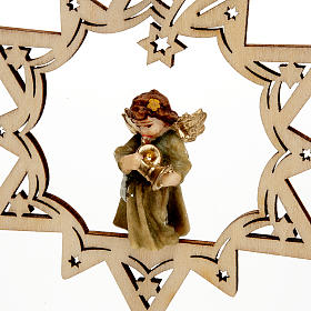 Angel on a Star Christmas Decoration s7