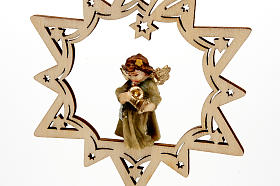 Angel on a Star Christmas Decoration s8