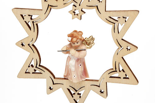 Angel on a Star Christmas Decoration 3