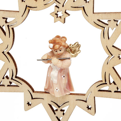 Angel on a Star Christmas Decoration 4
