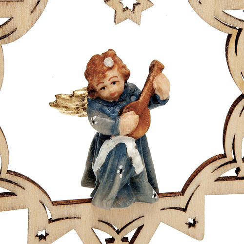 Angel on a Star Christmas Decoration 5