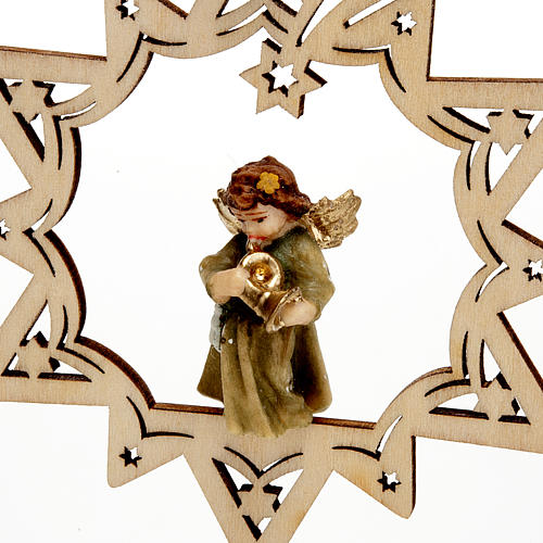 Angel on a Star Christmas Decoration 7