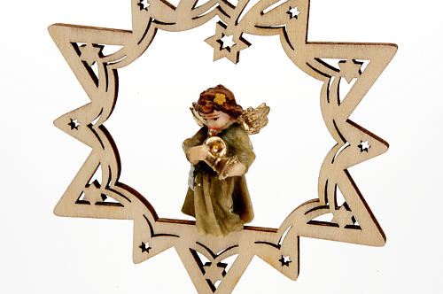 Angel on a Star Christmas Decoration 8