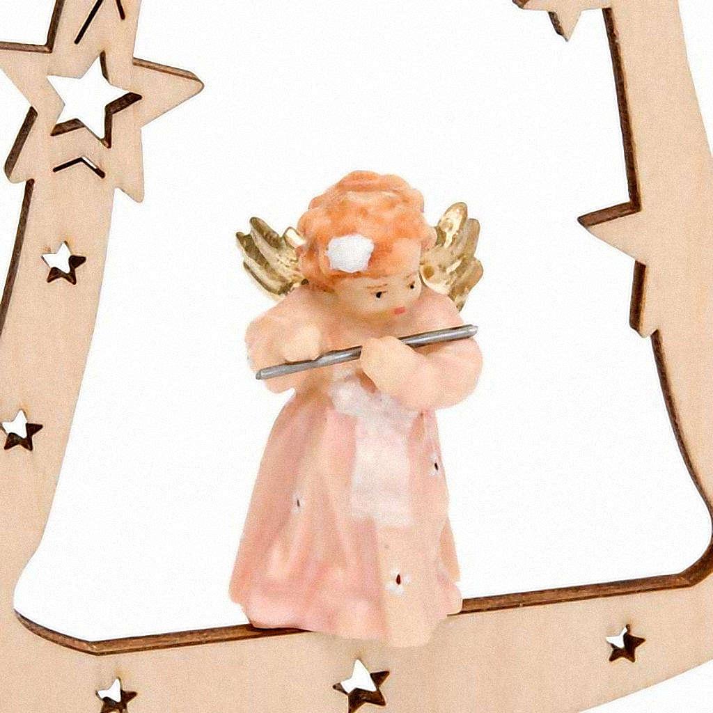 Décoration Noël ange sur cloche 4