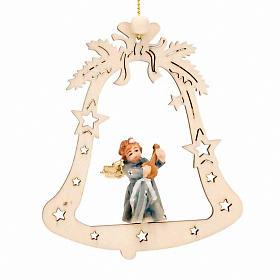 Décoration Noël ange sur cloche s4