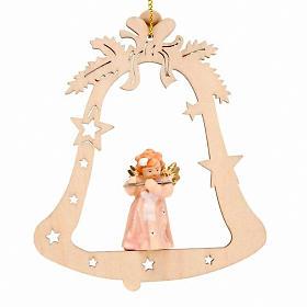 Décoration Noël ange sur cloche s6
