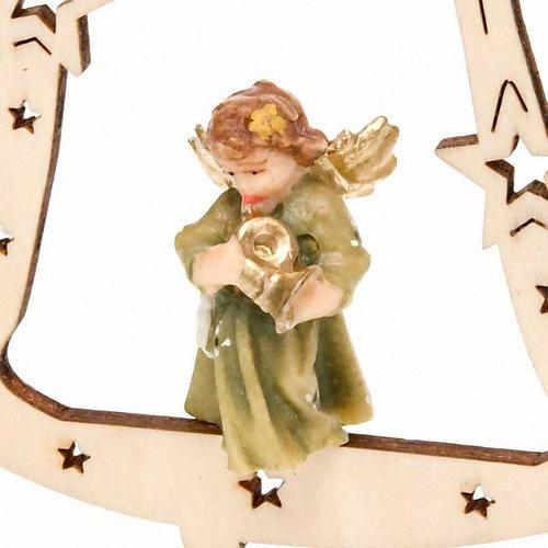 Décoration Noël ange sur cloche 2