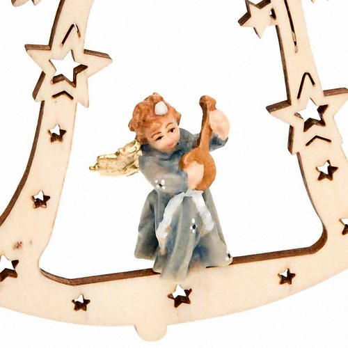 Décoration Noël ange sur cloche 3