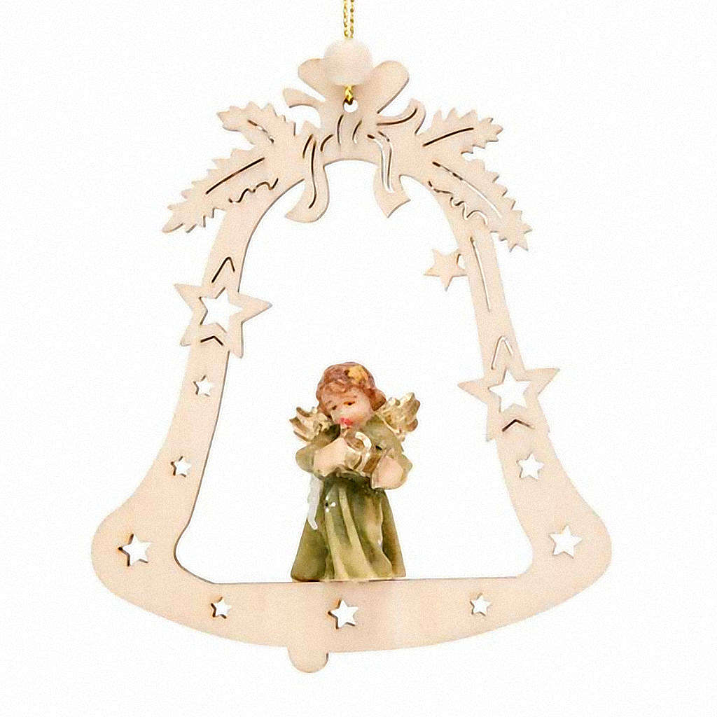 Christmas decor angel on a bell 4