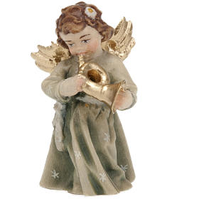 Christmas Angel Figurine with Instrument s6