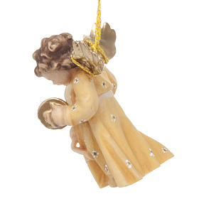 Christmas Angel Figurine with Instrument s10