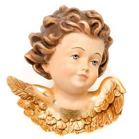 Enfeites de Natal para a Casa: Cabeça anjinho direita adorno natalino