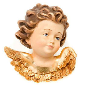 Wood Angel Head- Facing Right s1