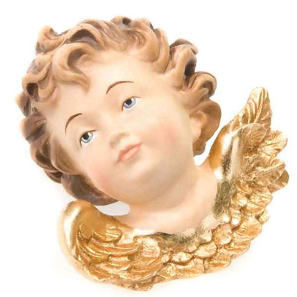 Cabecita ángel izquierda adorno navidad 3