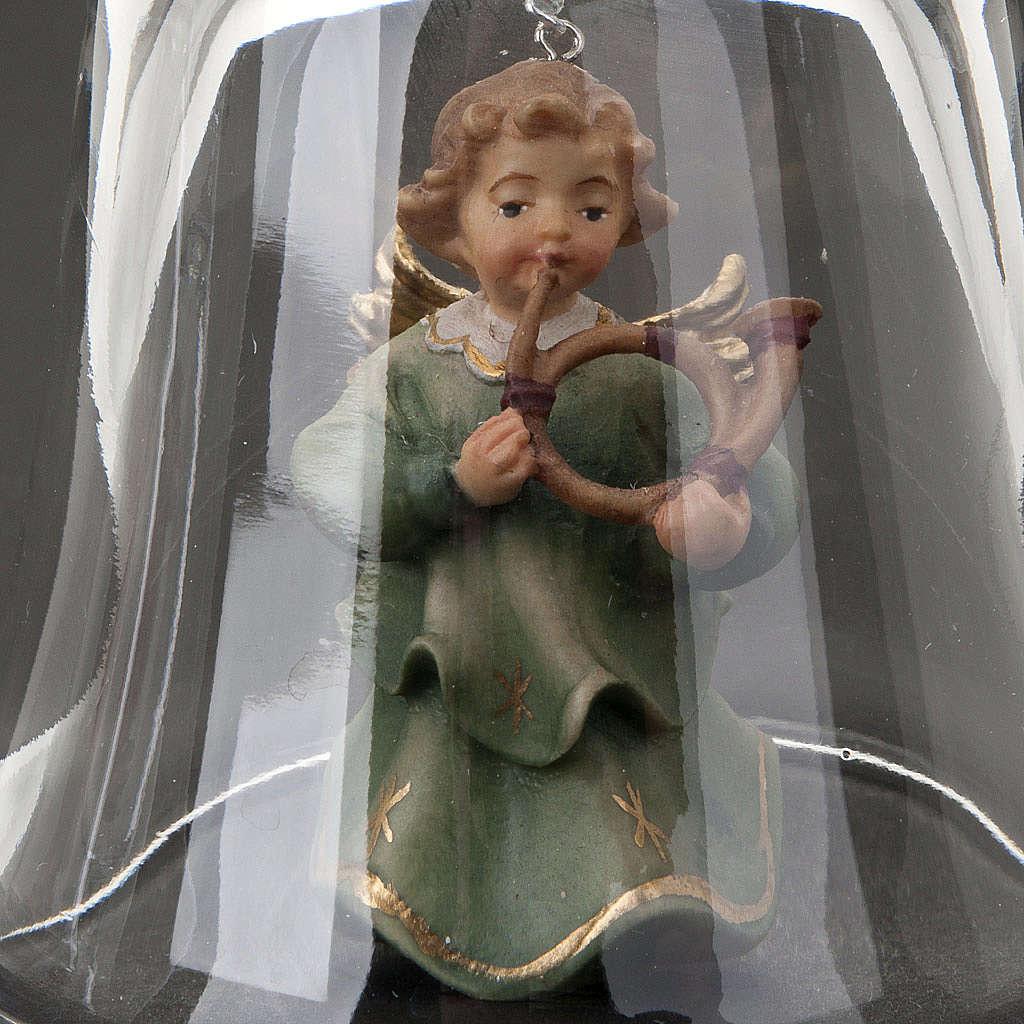 Campana de Cristal con ángel 3