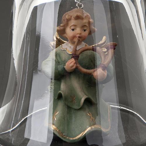 Campana de Cristal con ángel 4