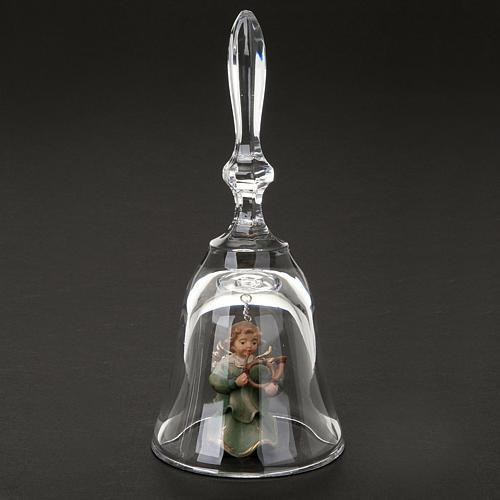 Clochette en cristal avec ange 2