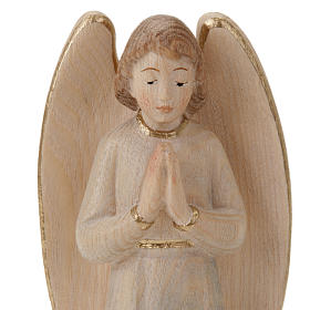Wood Statue of Angel in Prayer s3