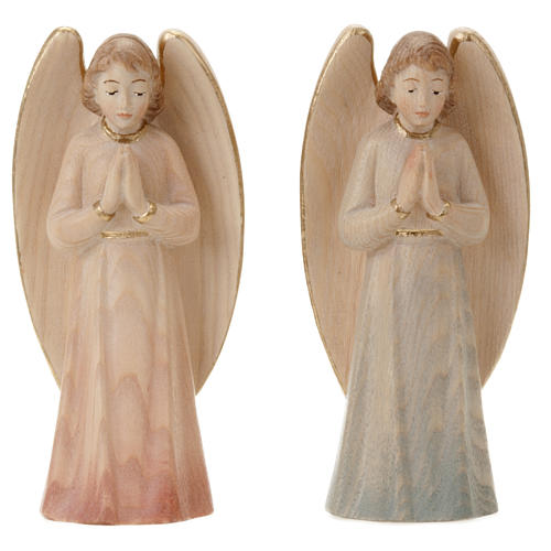 Wood Statue of Angel in Prayer 2