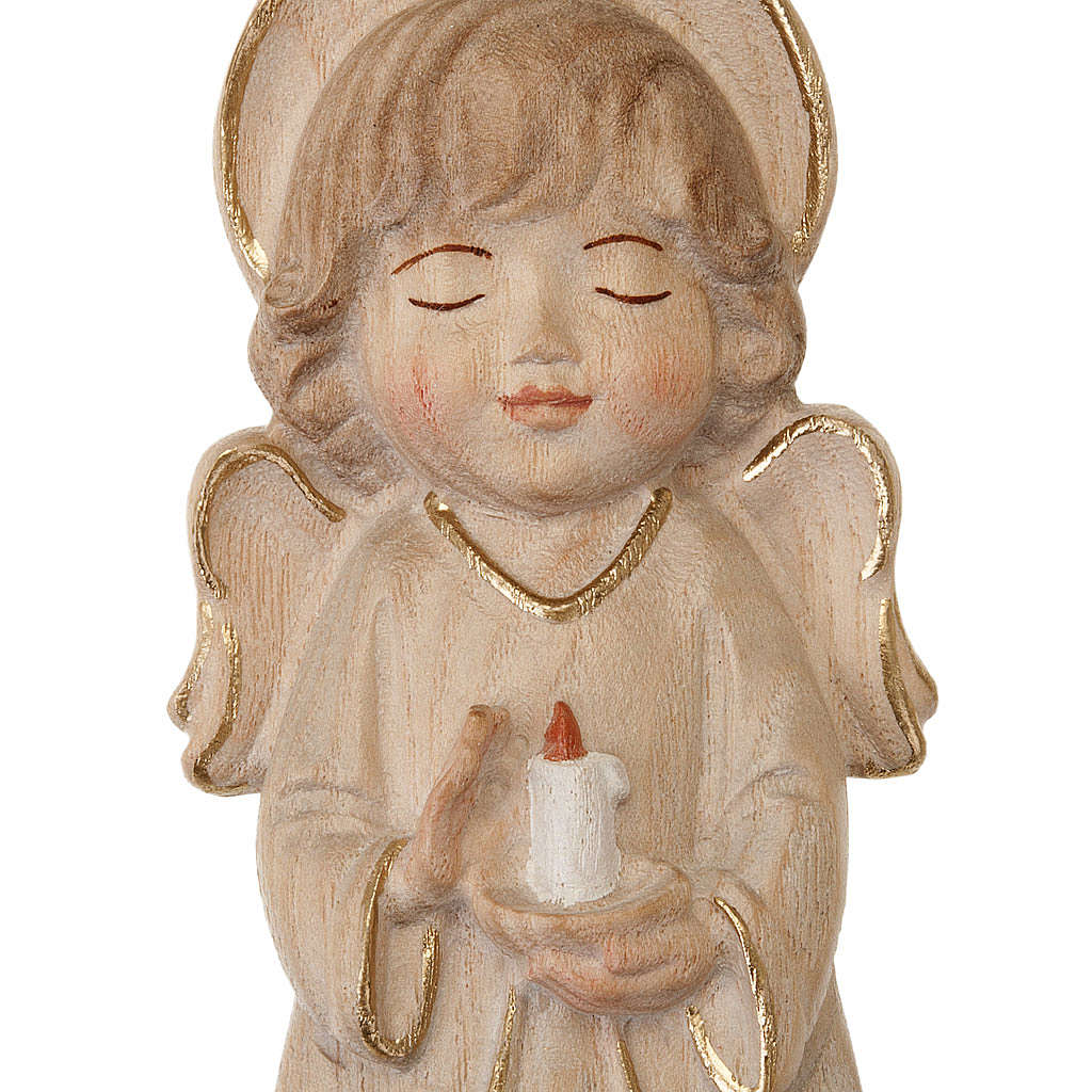 Angel with candle and pink dress 4