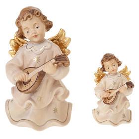 Angels: Angel Figurine Playing Mandolin
