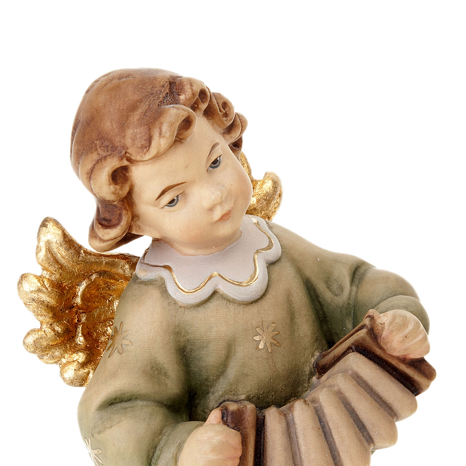 Angel with accordion 3