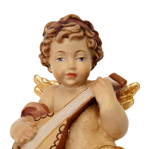 Angel with Guitar Statue 2