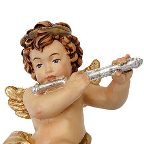 Angel with flute statue s4