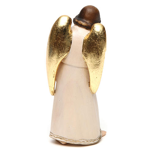 Ange gardien avec enfant style modern, bois Val Gardena 4