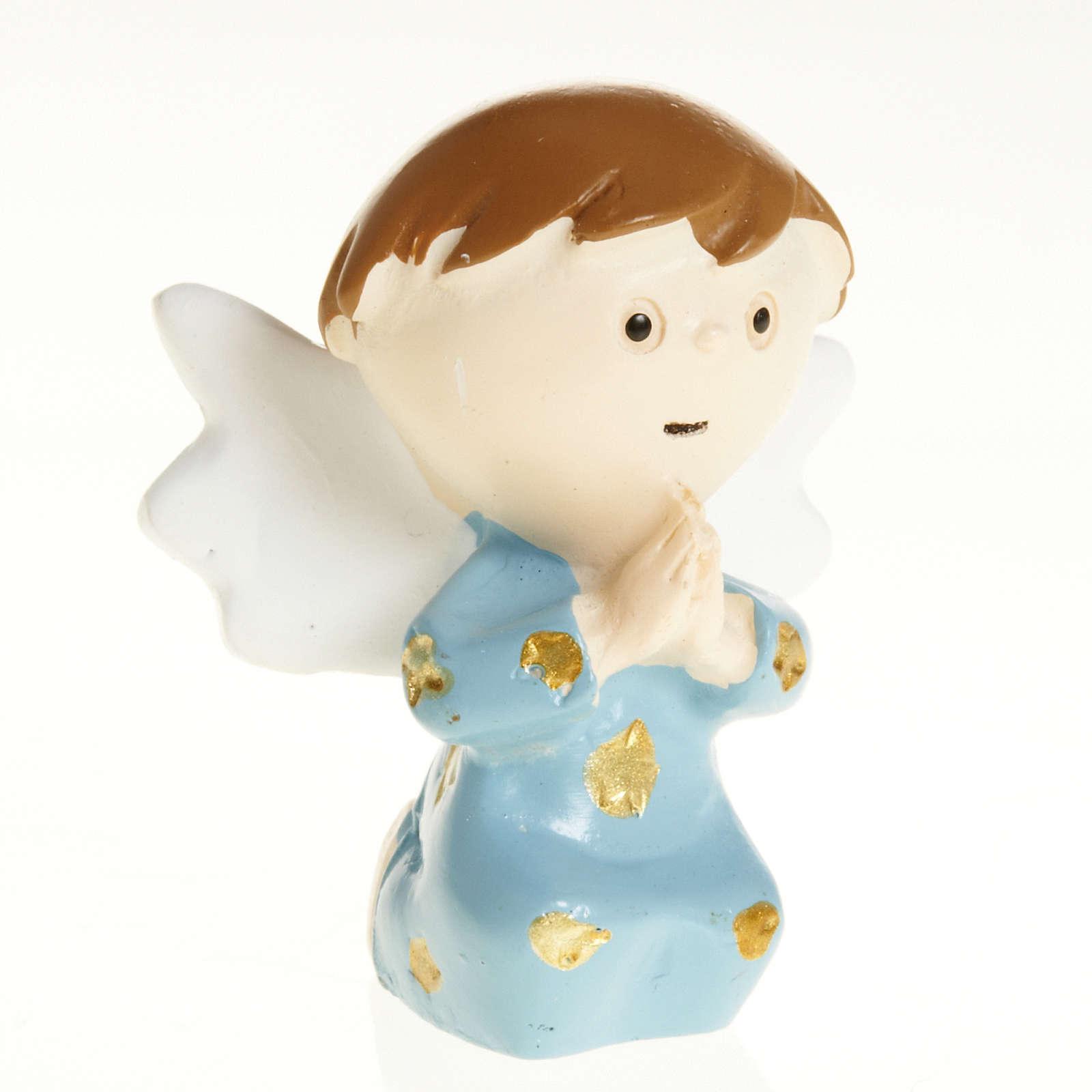 Angel in blue resin 3