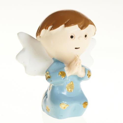 Angel in blue resin 1