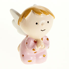 Angel in pink resin s1