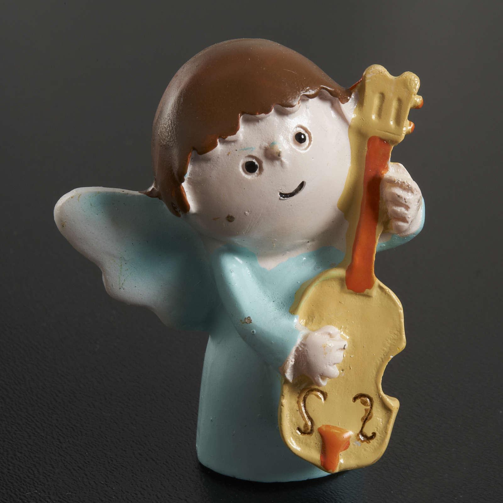 Angeli musicisti resina 4 pz. 3