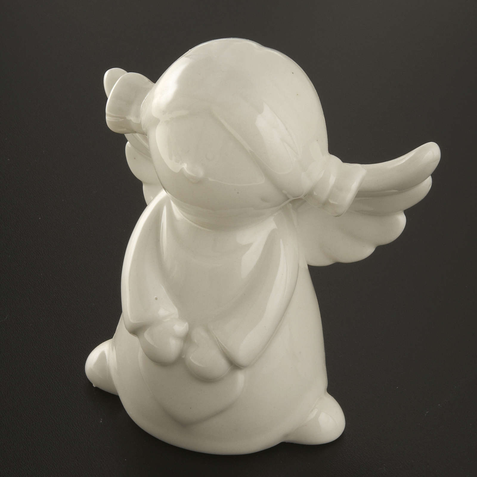 Anges céramique blanche 4 pcs 11 cm 3