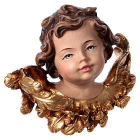 Cabeza de ángel derecha madera Val Gardena s3