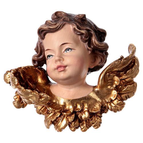 Cabeza de ángel derecha madera Val Gardena 1