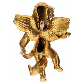 Ángel músico hoja de oro Fontanini cm 27 s4