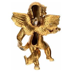 Angelo suonatore foglia oro Fontanini cm 27 s4