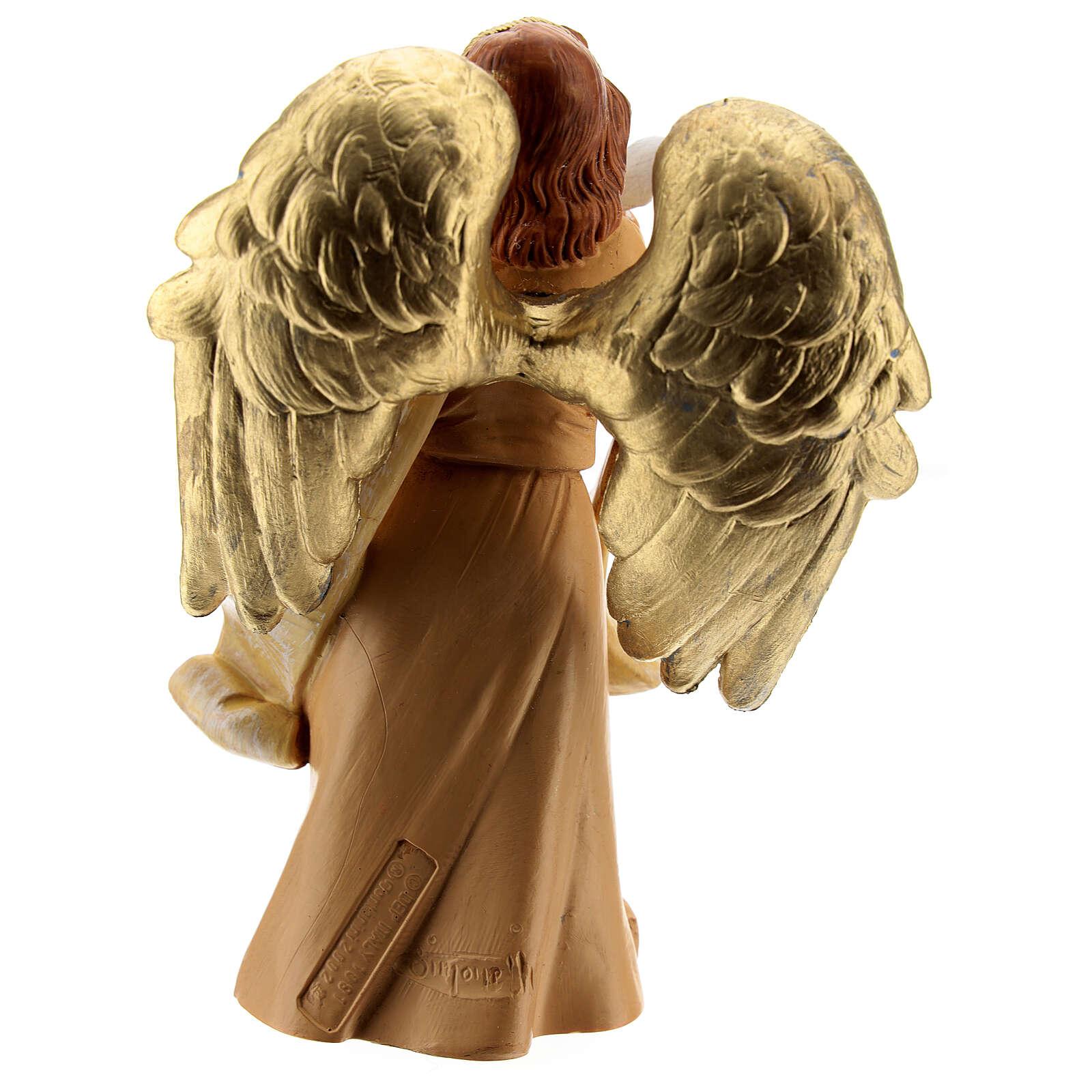 Ange avec colombe Fontanini 12 cm 3