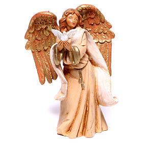 Ange avec colombe Fontanini 12 cm s1