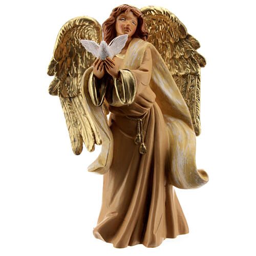 Ange avec colombe Fontanini 12 cm 1