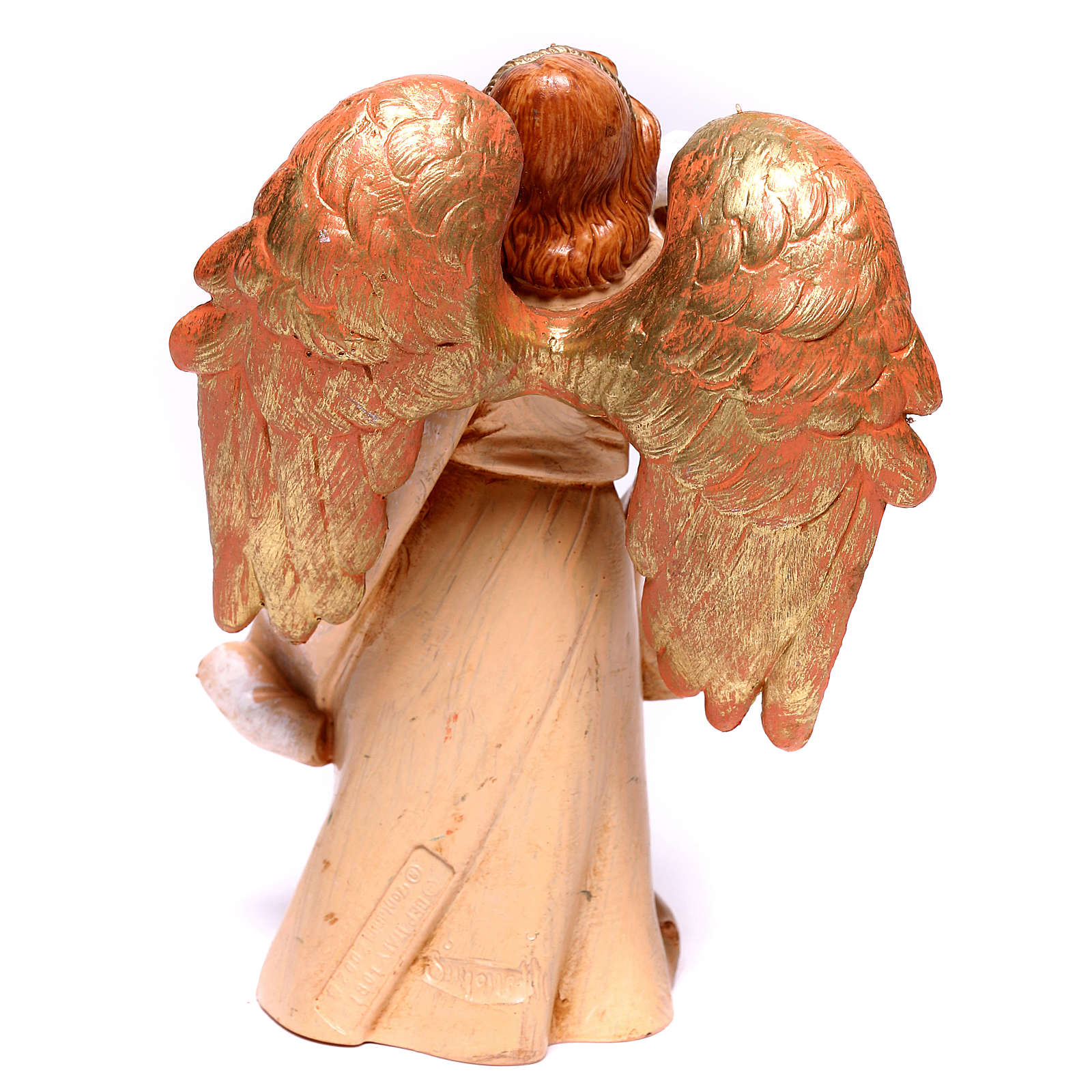 Angelo con colomba Fontanini 12 cm 3