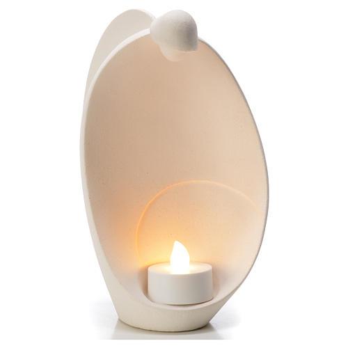 Ángel de la Llama arcilla refractaria Centro Ave 18 cm 1