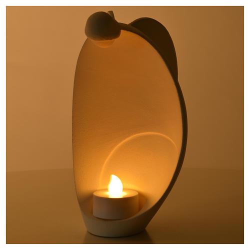 Ange de la Flamme 18 cm argile réfractaire 4