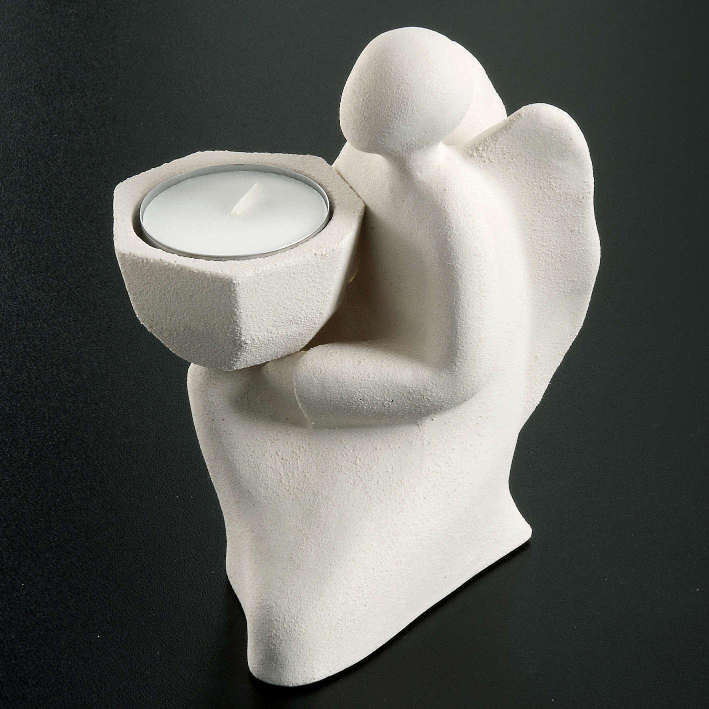 Angelo Adorazione bianco argilla refrattaria 3