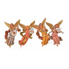 Engel Musiker 4 Stücke 11 cm Fontanini s1