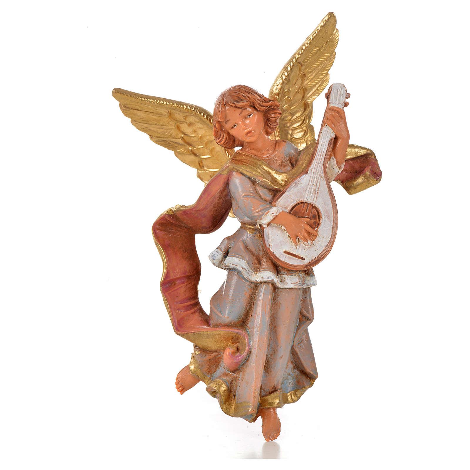 Anjos músicos 4 peças Fontanini 11 cm 3
