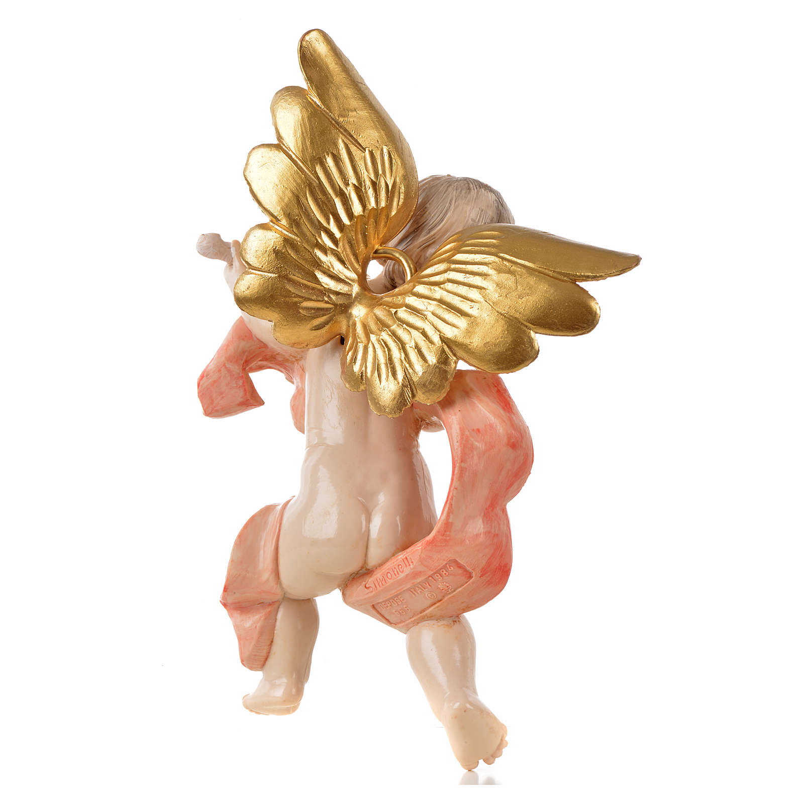 Anioł ze skrzypcami Fontanini cm 17 typu porcelana 3