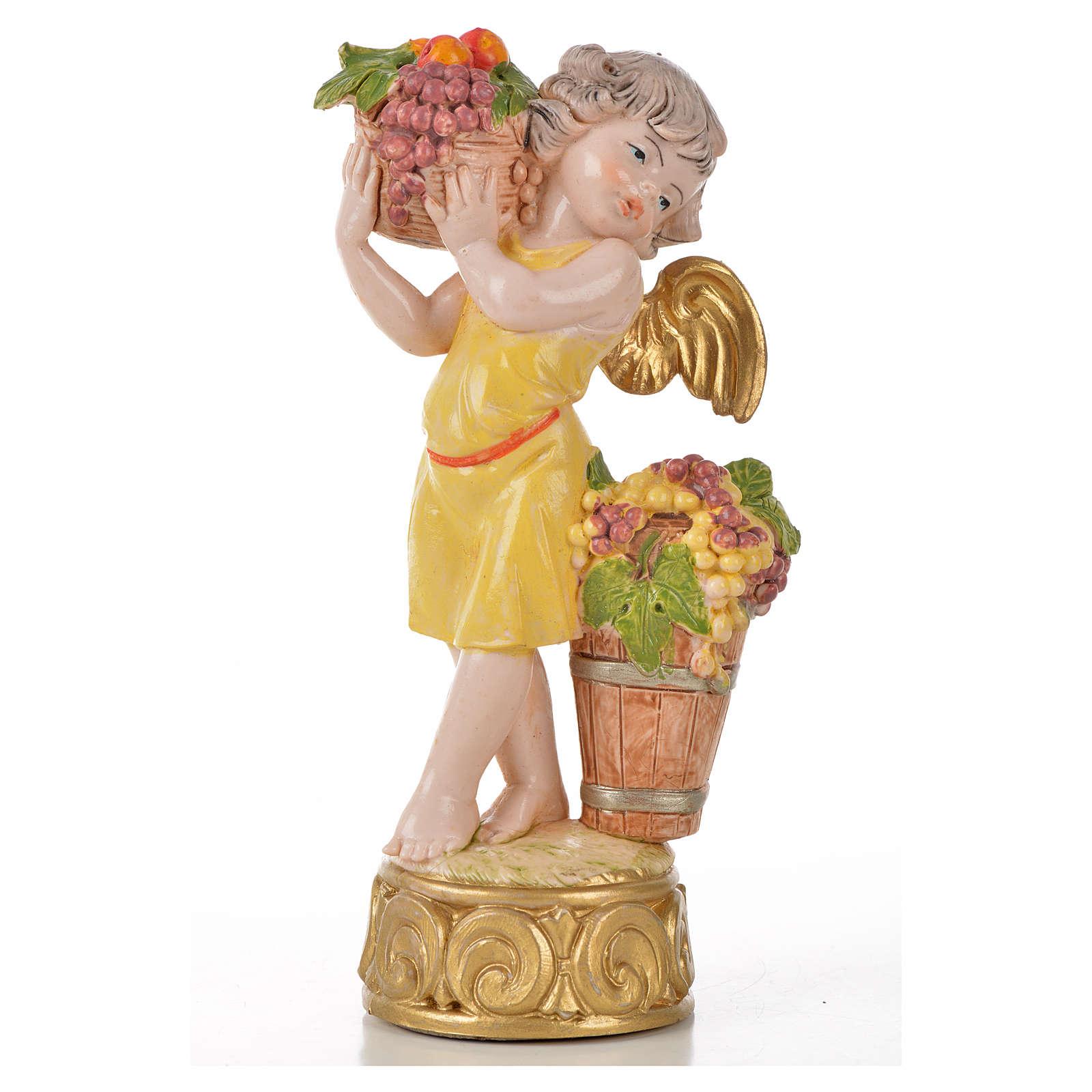 Angeli delle Stagioni 4 pz Fontanini cm 12 t/por. 3